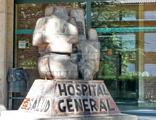 Escultura Hospital Padre Polanco