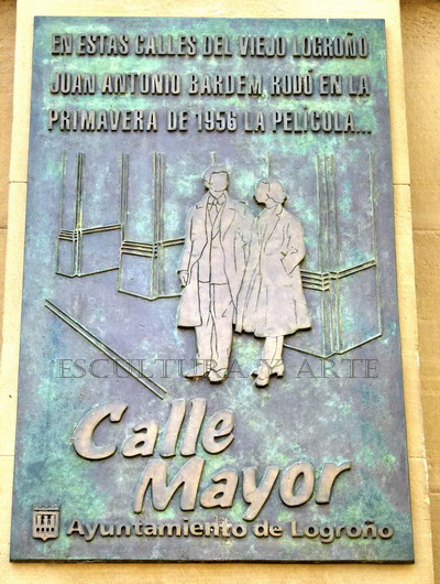 Calle Mayor, Placa