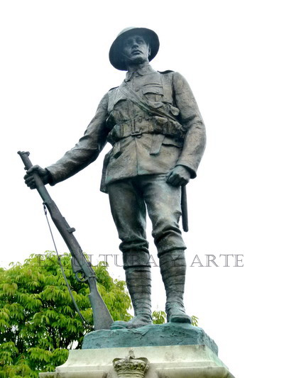 Memorial del Kings Royal Rifle Corps