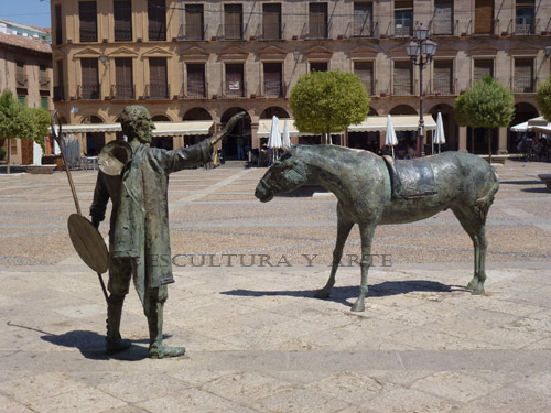 Don Quijote y Sancho Panza (03)