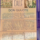 Don Quijote, Calle