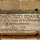 Francisco Pizarro. Placa